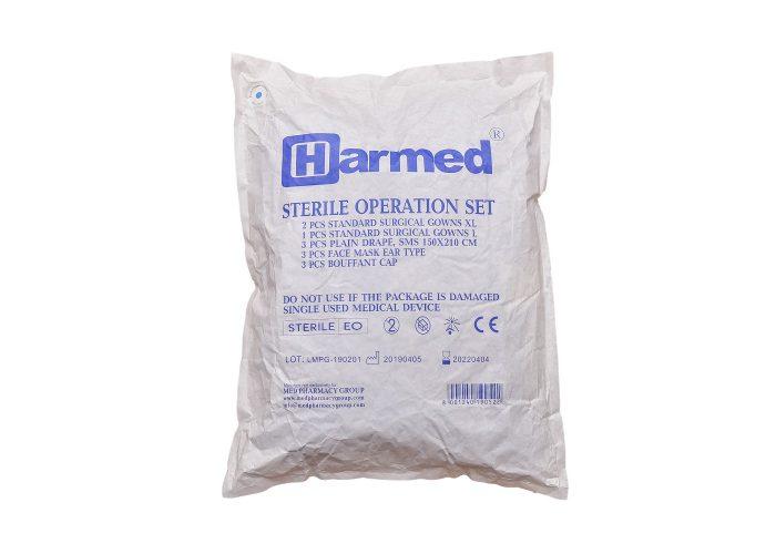 HARMED სტერილური ქირურგიული ნაკრები
