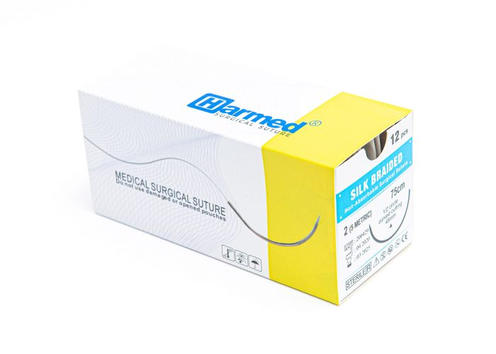 HARMED Sterile Surgical Thread SILK