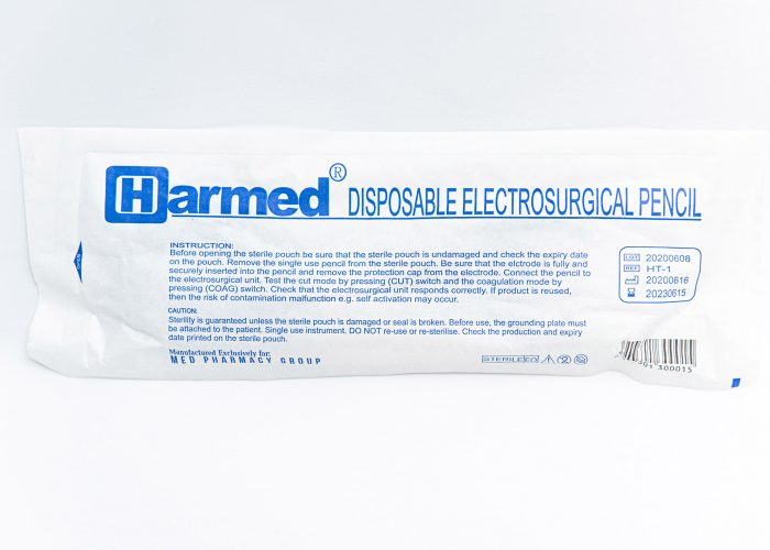 HARMED Disposable Electrosurgical Pencil