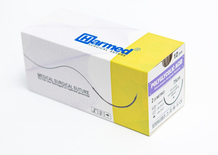 HARMED Sterile Surgical Suture PGA