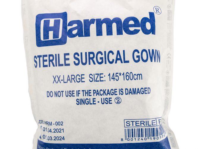 HARMED სტერილური ქირურგიული ხალათი XXL