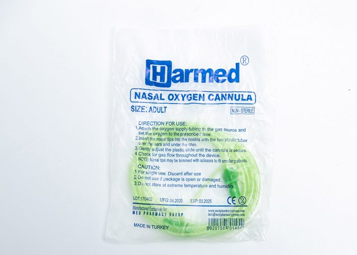 HARMED Nasal Oxygen Cannula Adult