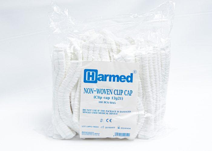 HARMED одноразовая медицинская шапочка (гофрированная)